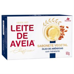 Sabonete Vegetal Leite de Aveia Óleo de Amêndoas 90g - Davene