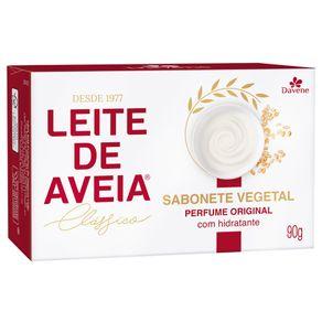Sabonete Vegetal Leite de Aveia Clássico 90g - Davene