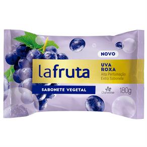 Sabonete Barra Vegetal Uva Roxa La Fruta 180g - Davene