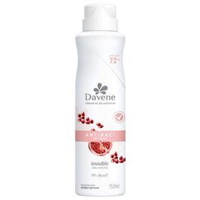 Desodorante Antiperspirante Aerossol Antibac Clássicos Da Natureza 150ml - Davene