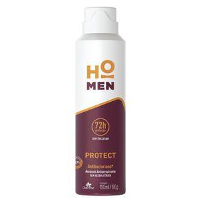 Desodorante Antiperspirante Aerossol Protect Ho Men 150ml - Davene