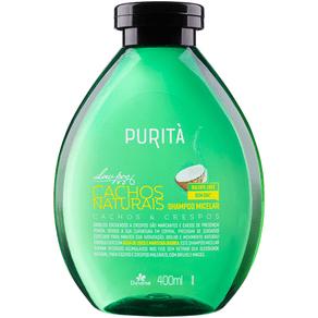 Shampoo Micelar Cachos Naturais Purità 400ml - Davene