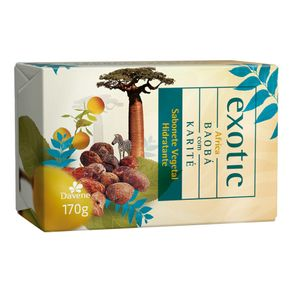 Sabonete Vegetal Hidratante Africa Exotic 170g - Davene