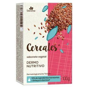 Sabonete Vegetal Cereales Nutritivo 100g - Davene