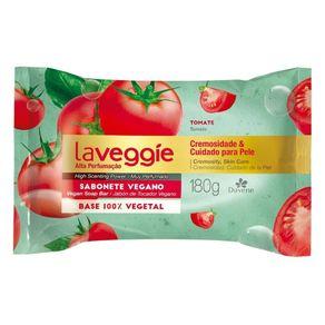 Sabonete Barra Vegetal Tomate La Veggie 180g - Davene
